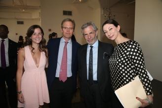 Scholar Paige Murphy, Brad Raymond, Joe Schick, Christina Powell