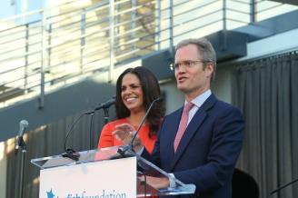 Starfish founders Soledad O'Brien and Brad Raymond
