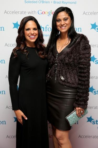 Soledad and board member Pamela