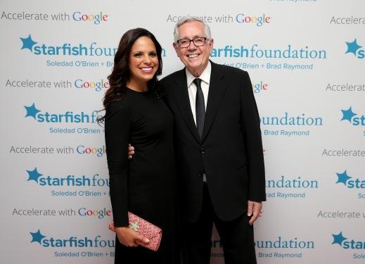 Soledad and board member Keith